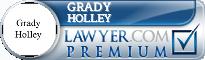 Grady Holley  Lawyer Badge