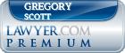 Gregory Scott  Lawyer Badge