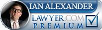 Ian Robert Alexander  Lawyer Badge