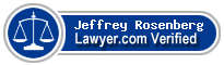 Jeffrey Rosenberg  Lawyer Badge