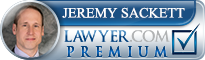 Jeremy Sackett  Lawyer Badge