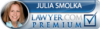 Julia J Smolka  Lawyer Badge