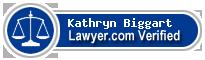 Kathryn Biggart  Lawyer Badge