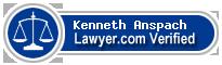 Kenneth Anspach  Lawyer Badge