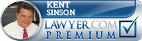 Kent Sinson  Lawyer Badge