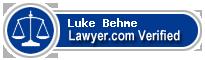 Luke Behme  Lawyer Badge