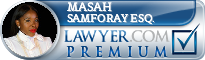 Masah Samforay Esq.  Lawyer Badge