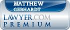 Matthew Gebhardt  Lawyer Badge
