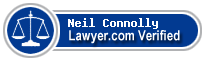 Neil Connolly  Lawyer Badge