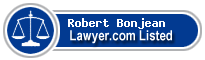 Robert Bonjean Lawyer Badge