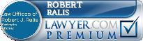Robert Ralis  Lawyer Badge