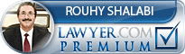 Rouhy Shalabi  Lawyer Badge
