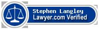 Stephen Langley  Lawyer Badge