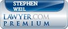 Stephen Weil  Lawyer Badge