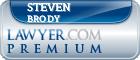 Steven Brody  Lawyer Badge