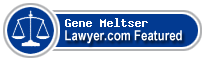 Gene Meltser  Lawyer Badge