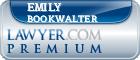 Emily Blair Bookwalter  Lawyer Badge