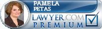 Pamela Sue Petas  Lawyer Badge