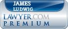 James Dean Ludwig  Lawyer Badge