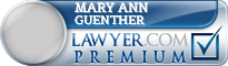 Mary Ann M Guenther  Lawyer Badge