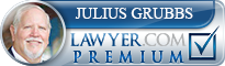Julius Will Grubbs  Lawyer Badge