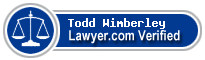 Todd Jerome Wimberley  Lawyer Badge