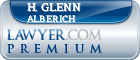 H. Glenn Alberich  Lawyer Badge