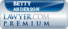 Betty L. Anderson  Lawyer Badge