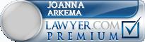 Joanna Arkema  Lawyer Badge