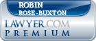 Robin B. Rose-Buxton  Lawyer Badge