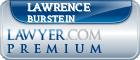 Lawrence E. Burstein  Lawyer Badge