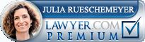 Julia Yael Rueschemeyer  Lawyer Badge