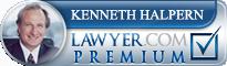 Kenneth W. Halpern  Lawyer Badge