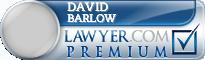 David M. Barlow  Lawyer Badge