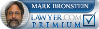 Mark Bronstein  Lawyer Badge