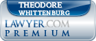 Theodore R. Whittenburg  Lawyer Badge