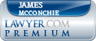 James H. Mcconchie  Lawyer Badge