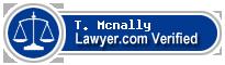 T. Mcnally  Lawyer Badge