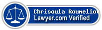 Chrisoula I. Roumeliotis  Lawyer Badge