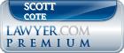 Scott A. Cote  Lawyer Badge