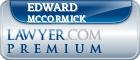 Edward G. Mccormick  Lawyer Badge