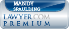 Mandy L. Spaulding  Lawyer Badge