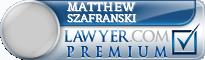 Matthew Szafranski  Lawyer Badge