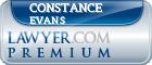 Constance Burr Evans  Lawyer Badge