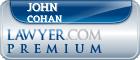 John Cohan  Lawyer Badge