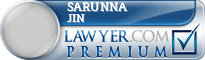 Sarunna Jin  Lawyer Badge