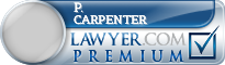 P. Brooks Carpenter  Lawyer Badge