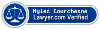 Nyles L. Courchesne  Lawyer Badge