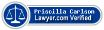 Priscilla T. Carlson  Lawyer Badge