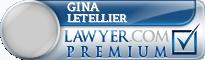 Gina M. Letellier  Lawyer Badge